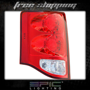 Fits 2011 14 Dodge Grand Caravan Taillight Lamp Driver Side Left Only