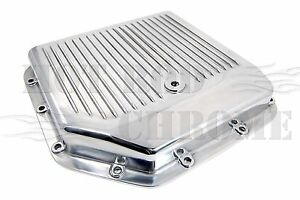 Gm Turbo 350 Transmission Pan With Gasket Bolts Polished Aluminum Finned Style