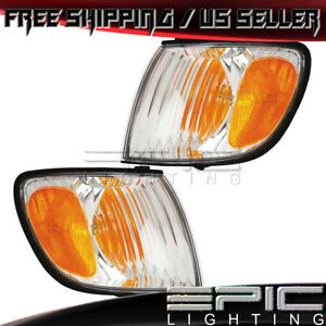 Corner Marker Signal Lights For 2001 2003 Toyota Sienna Left Right Sides Pair