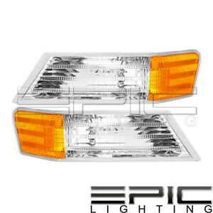 2007 2014 Jeep Patriot Corner Marker Turn Signal Lights Left Right Pair