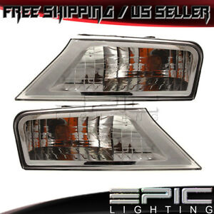 2008 2012 Jeep Liberty Fender Mounted Parking Corner Lights Left Right Pair