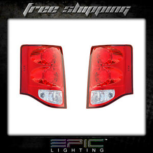Fits 2011 14 Dodge Grand Caravan Taillight Lamp Pair Left And Right Set