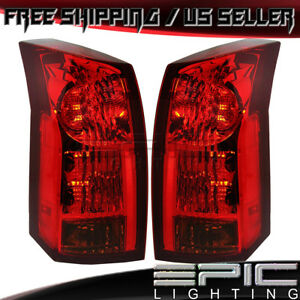 Rear Brake Tail Lights For 2004 2007 Cadillac Cts Left Right Sides Pair