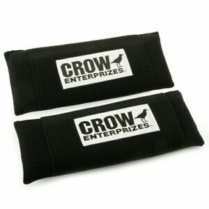11564a Black Crow 3 Seat Belt Harness Pads Nylon Material