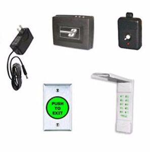 Complete Wireless Outdoor Keypad Kit For Magnetic Locks