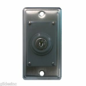 Ase pmks1c On off Key Switch W Plate constant Includes Two Keys