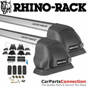 Rhino Rack Rs308 Vortex 2500 Rs Silver Fmp Roof Crossbar For Mazda 3 Sedan 04 09