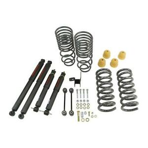 Belltech 964nd Stage 2 Front Rear 2 4 Lowering Kit For Ram 1500 Standard Cab