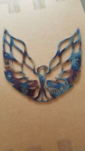 Phoenix Trans Am Firebird Pontiac last Breed 14g Mildsteel Wall Art 1 x1