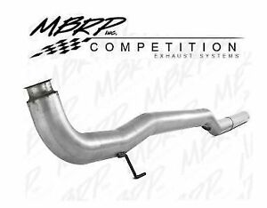 Mbrp Dpf Cat Delete Pipe W o Bungs For 2011 2015 Gm 6 6l Lml Duramax Diesel