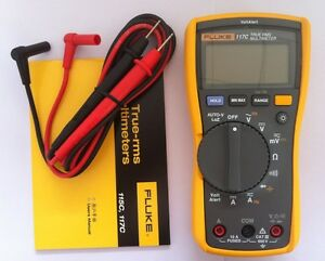 Usa Seller Fluke 117c Voltalert True Rms Digital Multimeter W Carrying Case