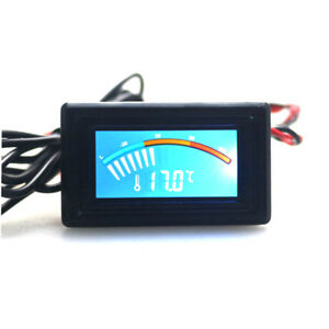 Celsius fahrenheit Digital Pointer Thermometer Car Water Lcd Temperature Meter