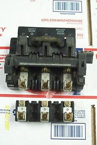 Allen Bradley 30 Amp Disconnect Bul 1494f With X401977 Fuse Holder