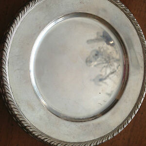 Sterling Silver Wallace Bread And Butter Plate H108