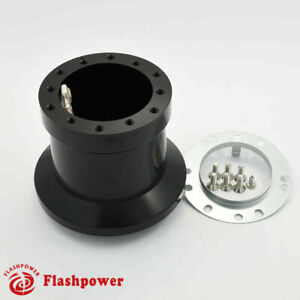 Flashpower Steering Wheel Hub Adapter Boss Kit Bmw 1500 1600 1800 2002 Black