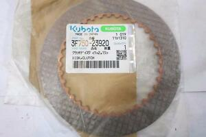 New Old Stock Kubota Clutch Disk Part 3f750 23920