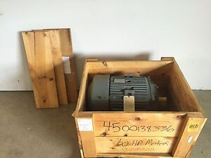 New Westinghouse 364ts Tefc A 60hp 3555rpm Electric Motor 575v