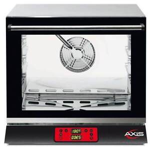 Axis Ax 514rhd Commercial 1 2 Half size Electric Convection Oven Made In Italy