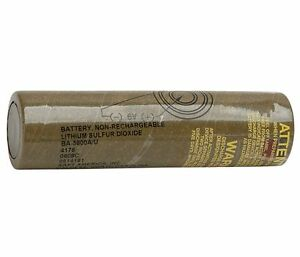 Battery Pack Lithium Sulfur Dioxide 769532