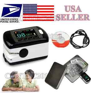 Contec Finger Tip Pulse Oximeter Blood Oxygen Spo2 Monitor W Bluetooth Wireless