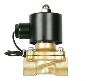 Air Ride Suspension Valve 3 8 Npt Brass Electric Solenoid For Train Horn Fast