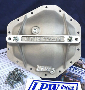 Chevy gmc Corporate 10 5 14 Bolt Rear Differential Aluminum Cover Gm 10 1 2