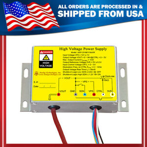 High Voltage Dc dc Power Supply From 0v To 6kv 1ma 12v Us Shipping