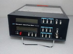 Newport 835 Laser Pico watt Digital Optical Power Meter