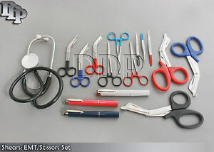 3 Set Shears Emt scissors Combo Pack With Holster