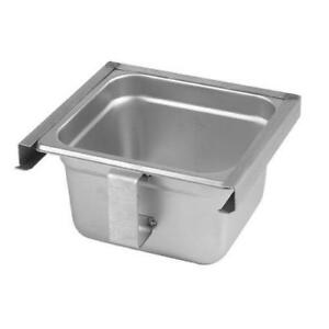 Exhaust Hood Grease Tray cup Slide Out Type Stainless Steel New 31915