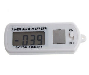 Kt 401 Air Aeroanion Tester Air Ion Tester Meter Counter Negative And Peak Hold