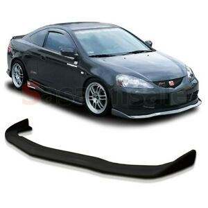 Made For 2005 2006 Acura Rsx Dc5 Cspeed Style Jdm Front Pu Bumper Lip Spoiler