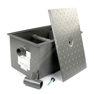 Wentworth 20 Pound Grease Trap Interceptor 10 Gpm Gallons Per Minute Wp gt 10