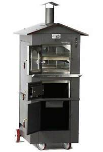 Incendiforno Wo it 0435 s Italian Wood burning Pizza Oven Stove W roof small