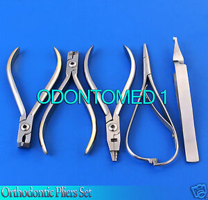 Orthodontic Kim Plier Hard Wire Cutter Distal End Mathieu Bracket Remover