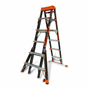 Little Giant 15131 6 10 Feet Select Step Fiberglass Ladder 300lb Capacity