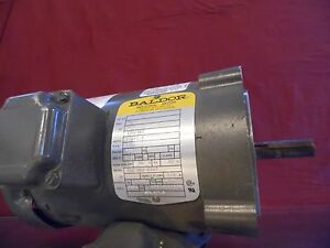Baldor Electric Motor 34n42 255 3 4 Hp 230 460 Volt 3 Ph 3450 Rpm 56c Frame
