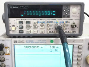 Hp agilent 53131a Opt 010 225 Mhz Universal Frequency Counter