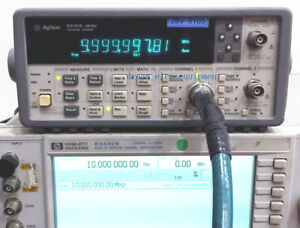 Hp agilent 53131a Opt 030 225 Mhz Universal Frequency Counter