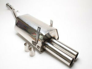 Sport Stainless Steel Sport Exhaust System Muffler For Bmw E36 4 cylinder
