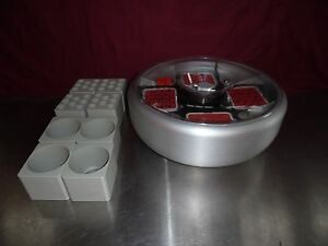 Hermle Z510 Fisher Scientific Centrifuge Rotor 4 Swinging Bucket Rotor Bioshield