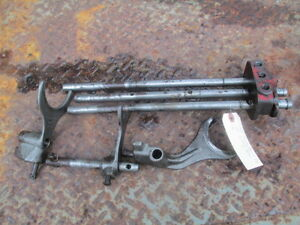 1951 Massey Harris 44 Gas Farm Tractor Transmission Shift Shifting Forks