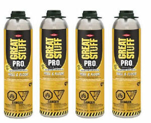Dow Great Stuff Pro 26 5oz Wall And Floor Adhesive 343087 Pack Of 4