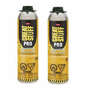 Dow Great Stuff Pro 26 5oz Wall And Floor Adhesive 343087 Pack Of 2