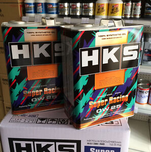 Hks Super Racing Engine Oil 4l 0w25 Full Synthetic For Toyota 86 Brz
