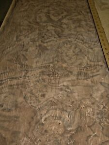 Walnut Burl Wood Veneer 18 X 33 Raw Veneer No Backing Aaa Quality Grade 1 42