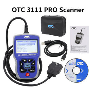 Otc 3111pro Scan Tool Obd Ii Code Reader Obd2 Obdii Obd2 Scanner Can Abs Airbag