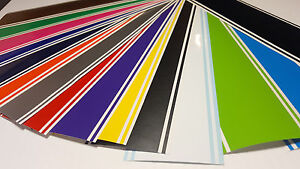 6 X 72 Vinyl Racing Stripe Pinstripe Decals Stickers 18 Colors Stripes
