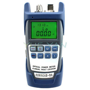 New All in one Optical Power Fiber Meter 10mw Visual Fault Locator