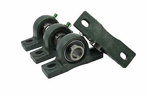 Ucp208 24 1 1 2 Pillow Block Bearing Unit Solid Base Housing qty 4